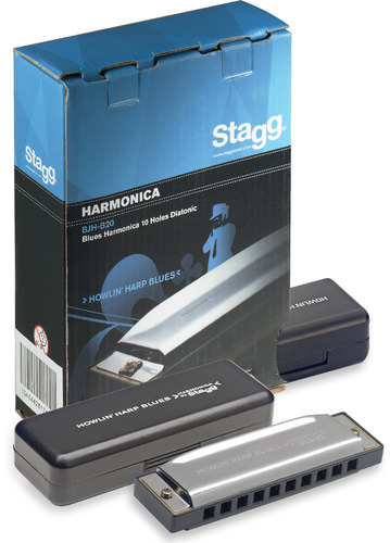 Stagg Blues Harmonica in G Major