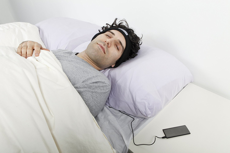 SleepPhones: Classic Black Fleece - Large image