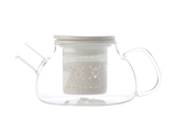 Maxwell & Williams - Lille Glass Teapot with Infuser White (700ml)