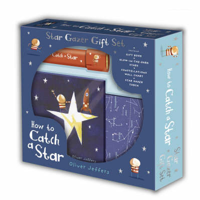 How to Catch a Star Gift Set (Book + Chart + Torch) by Oliver Jeffers