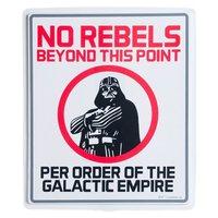 Star Wars: No Rebels - Wall Sign