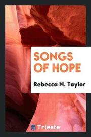 Songs of Hope by Rebecca N Taylor image