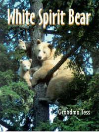 White Spirit Bear by Grandma Tess image