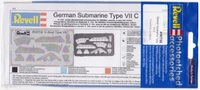 Revell German Sub Type Vii C Metal Photo-etched Accessories