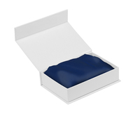 Royal Comfort Mulberry Silk Pillow Case Twin Pack (Navy) image