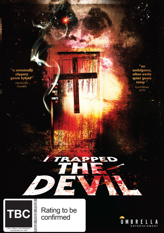 I Trapped the Devil on DVD