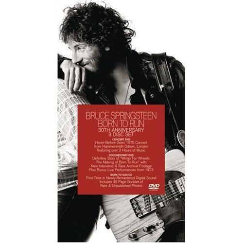Bruce Springsteen - Born To Run: 30th Anniversary Edition (2 DVD And CD Set) on DVD image