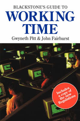 Blackstone's Guide to Working Time by John Fairhurst image