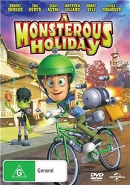 A Monsterous Holiday on DVD