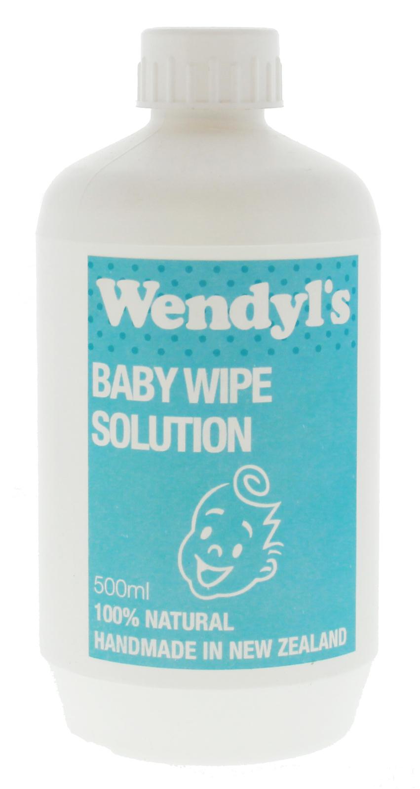 Baby Wipe Solution 500ml - Wendyl's Green Goddess image