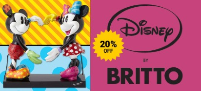 20% off Disney & Looney Tunes Romero Britto