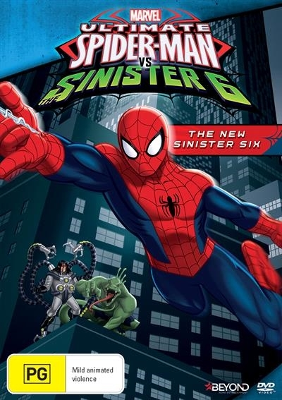 Ultimate Spider-Man - The New Sinister Six on DVD image