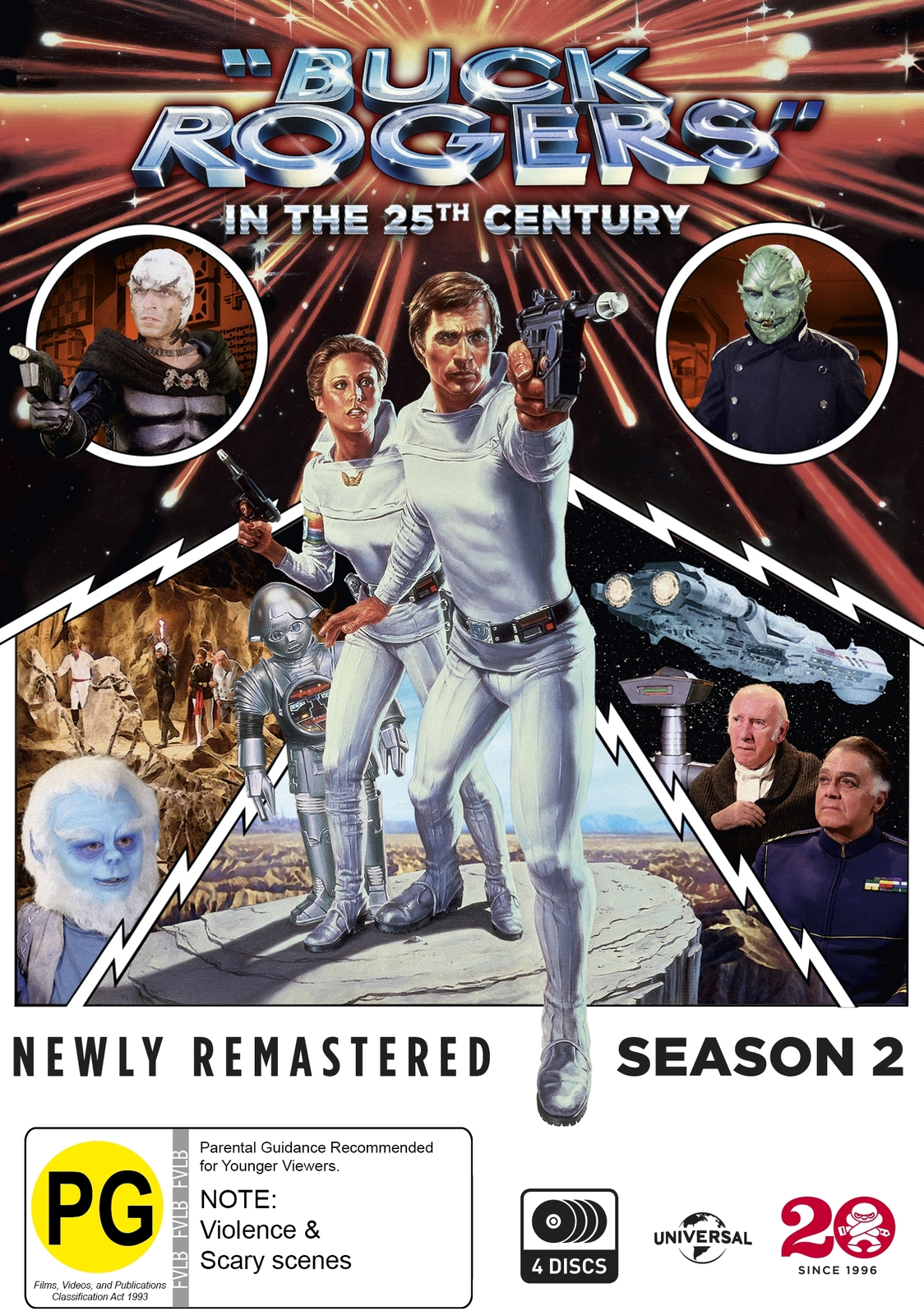 Buck Rogers In The 25th Century - Season Two on DVD image