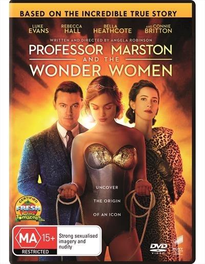 Professor Marston & The Wonder Women on DVD image