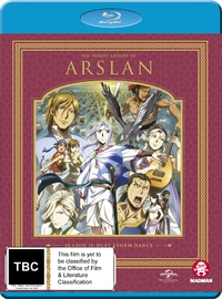 The Heroic Legend Of Arslan - Season 2 on Blu-ray
