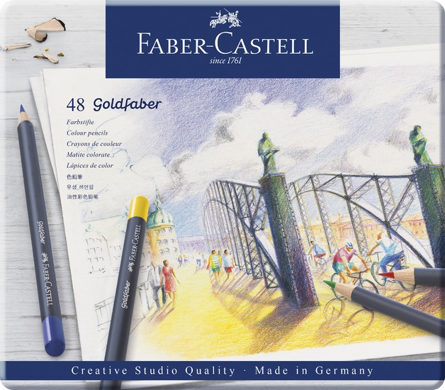 Faber-Castell: Goldfaber (Tin of 48)