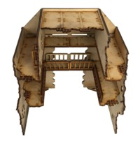 TTCombat: Tabletop Scenics - Gothic Ruined Garage image