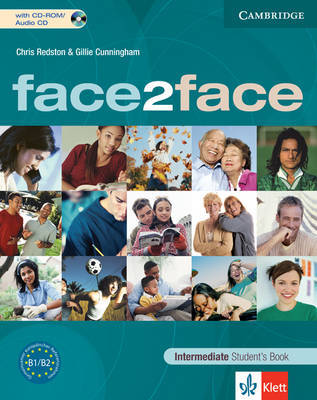 Face2face Intermediate Student's Book with Audio CD/CD-ROM Klett Edition by Chris Redston image
