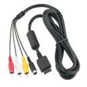 Madcatz Super Video / AV Cable for PS2