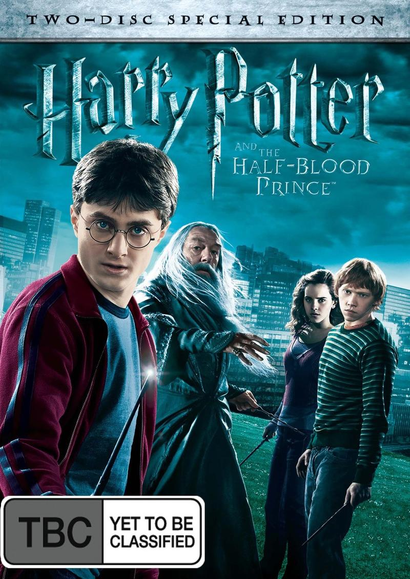 Harry Potter and the Half-Blood Prince Special Edition (2 Disc Set) DVD image