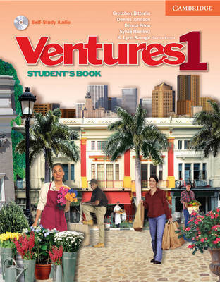 Ventures 1 Student's Book with Audio CD: No. 1 by Dennis Johnson