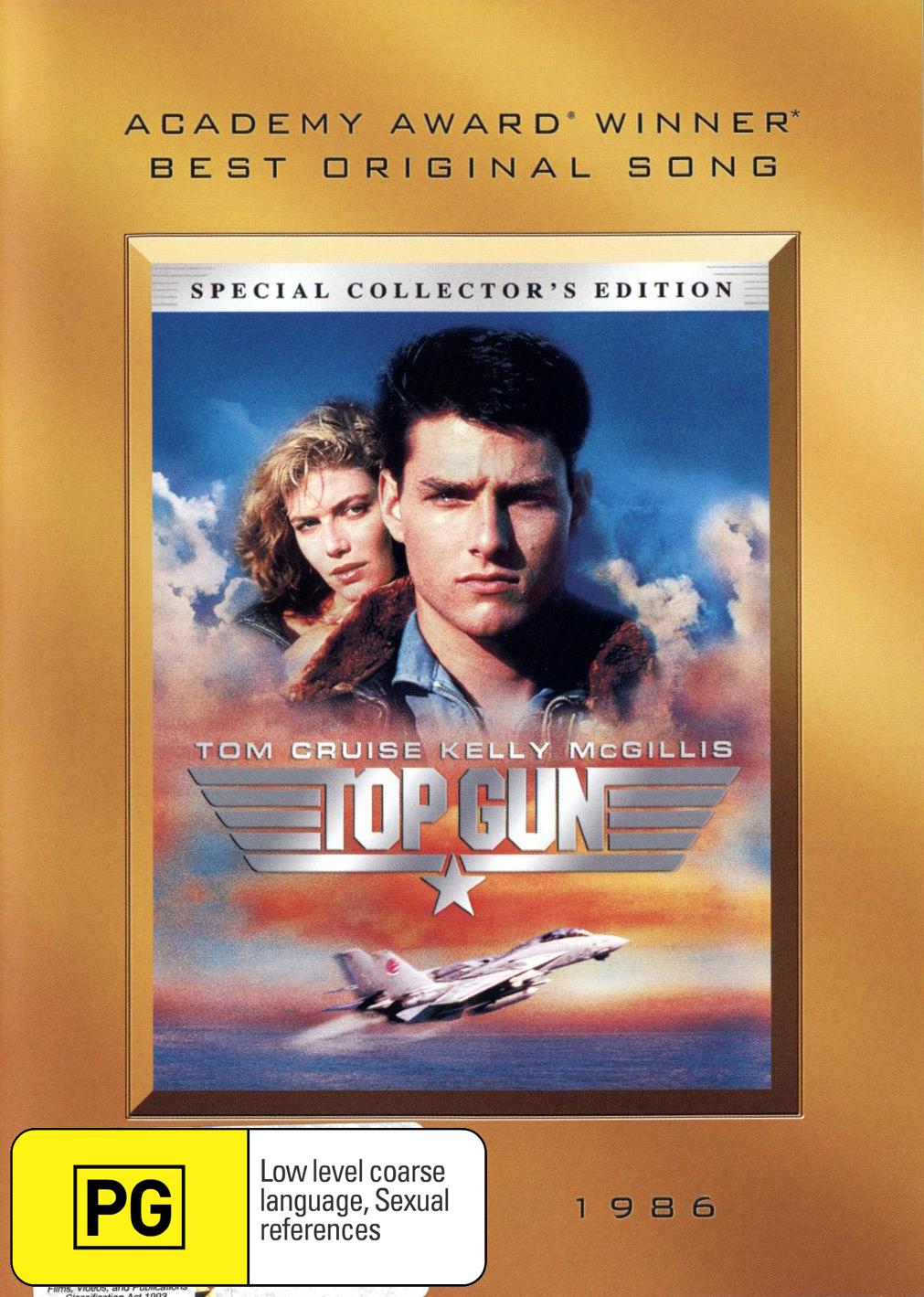 Top Gun on DVD image