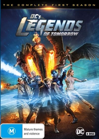 DC'S Legends of Tomorrow - The Complete First Season on DVD image