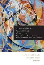 Soundings in Cultural Criticism