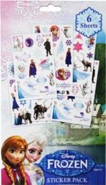 Disney's Frozen:: 6 Page Sticker Book