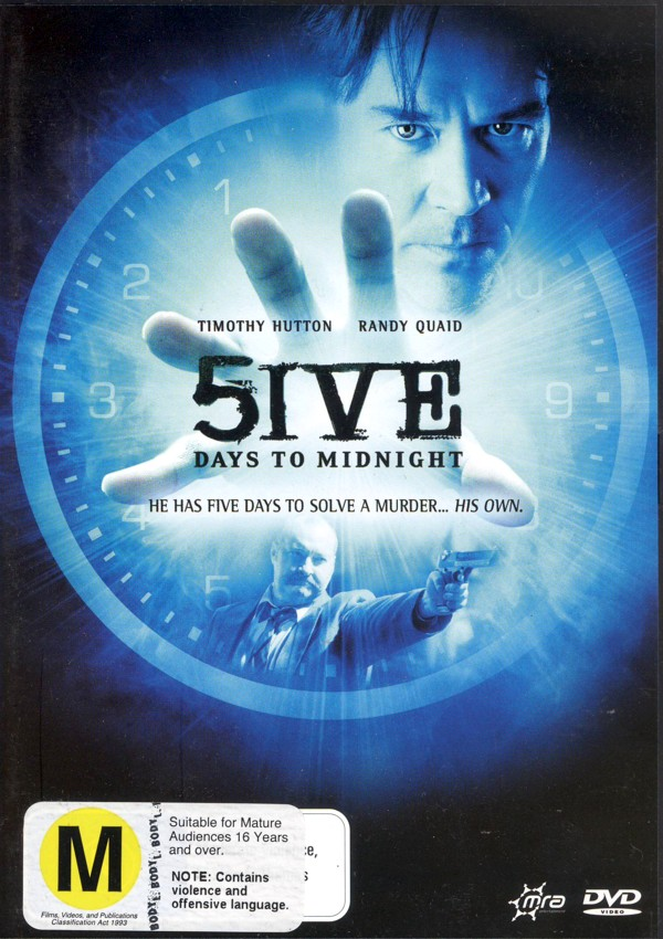 5ive Days To Midnight (Five Days To Midnight) on DVD image