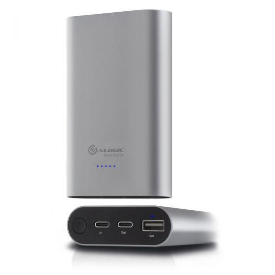 Alogic USB-C 10200mah Portable Power Bank - Space Grey