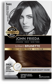 John Frieda Precision Foam Colour - 5NBG (Medium Chestnut Brown) image