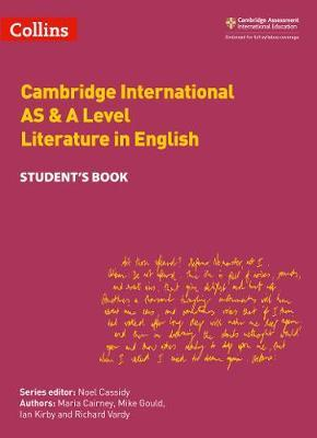 Cambridge International AS & A Level Literature in English Student's Book by Maria Cairney image