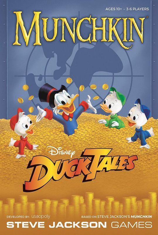 Munchkin: Disney DuckTales - Card Game