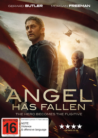 Angel Has Fallen on DVD image