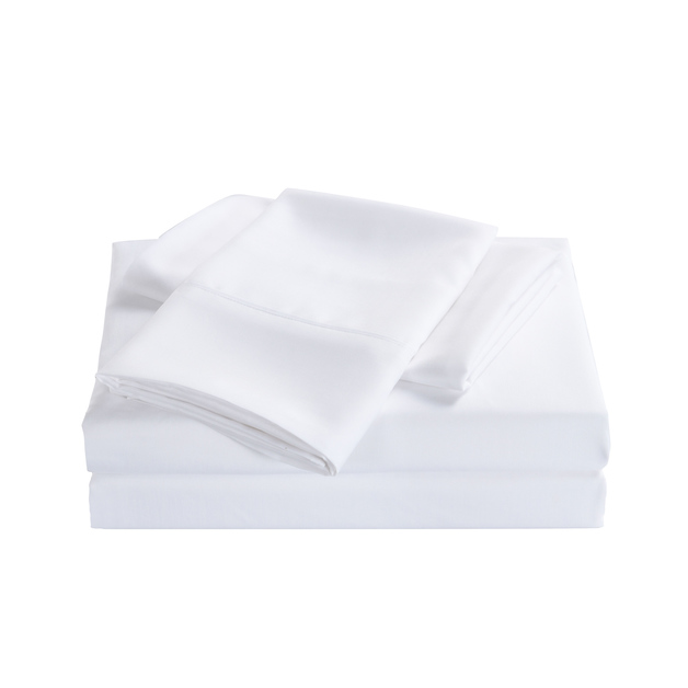 Royal Comfort: Bamboo Cooling 2000TC Sheet Set - Single (White)