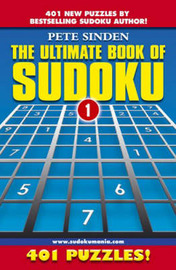 The Ultimate Book of Sudoku by Pete Sinden image