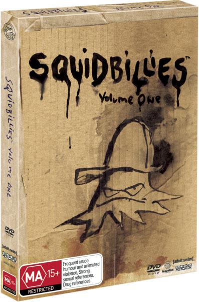 Squidbillies: Volume 1 on DVD