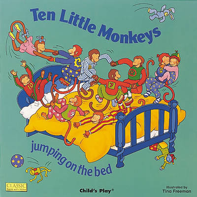 Ten Little Monkeys Jumping on the Bed image