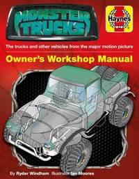 Monster Trucks Manual by Ryder Windham