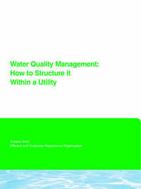 Water Quality Management by Edward G Means