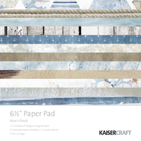 "Kaisercraft Beach Shack 6.5"" Paper Pad"