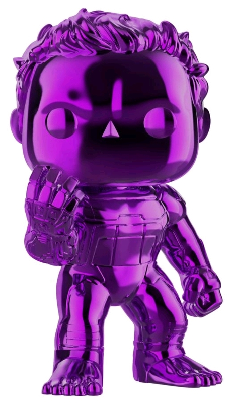 Avengers: Endgame - Hulk (Purple Chrome) Pop! Vinyl Figure