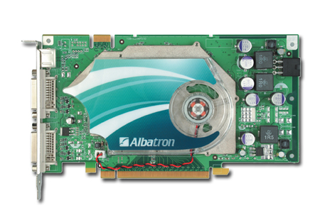 ALBATRON 7950GT 512MB DDR3 PCIE DUAL DVI image