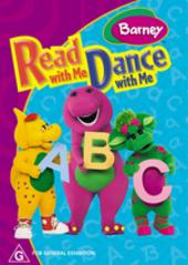 Barney - Read With Me, Dance With Me on DVD
