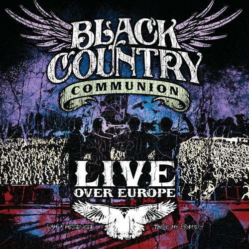 Live Over Europe (2CD) by Black Country Communion image