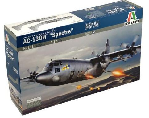 Italeri 1:72 AC-130H Spectre Gunship