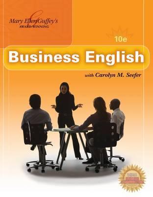 Business English by Mary Ellen Guffey