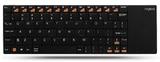 Rapoo Wireless Multi-Media Touchpad Keyboard - Black