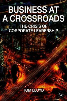 Business at a Crossroads by Tom Lloyd image